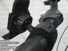 #77 v.2 Fahrrad Bike Halterung Lenkstange Kugel Aufnahme 17mm