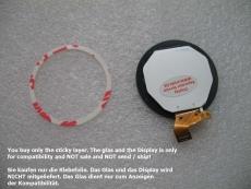 Rahmen Kleber Klebepad Klebefolie Garmin Forerunner 220 225 235  Glue Sticker