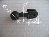 #301 Kugel Aufnahme 17 mm Adapter Brücke Halterung