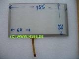 6,2 Touchscreen 155x88x1,5mm Kabel links