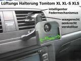#289 passend Tomtom XL XL-S XLS Lüftung Lüftungsgitter Halterung mit intelligentem Federmechanismus