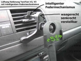 #290 passend Tomtom V2 V3 Lüftung Lüftungsgitter Halterung mit intelligentem Federmechanismus