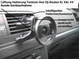 #293 passend Tomtom One IQ Routes XL XXL V4 Lüftung Lüftungsgitter Halterung mit intelligentem Federmechanismus