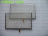 2 Stück Touchscreen mit Rahmen für Garmin 2595 2545 1450 1490 150 154 2460 Drive 50 51